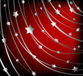 Starry vector background Royalty Free Stock Photos