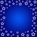 Stars border Royalty Free Stock Photo