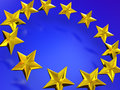 Stars of the european union d Stock Photos