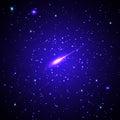 Stars and galaxies Royalty Free Stock Photo