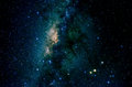 Stars and galaxy space sky night background Royalty Free Stock Photo