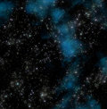 Stars in outer space Royalty Free Stock Images