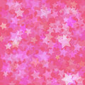 Stars pink background Royalty Free Stock Photo