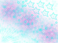 Stars rising  background blur effects Royalty Free Stock Photo
