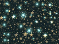 Stars seamless pattern. Magic star pattern. Outer space. Vector