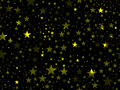 Stars seamless pattern. Magic star pattern. Outer space. Vector Royalty Free Stock Photo