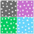 Stars and squares pattern Stock Image