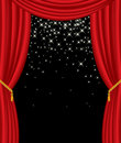 Stars on stage Royalty Free Stock Photo