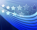Stars and stripes Royalty Free Stock Images