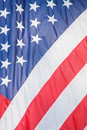 Stars and Stripes American Closeup Royalty Free Stock Photo