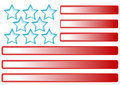 Stars and Stripes Design Stock Photo