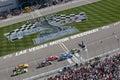 Start NASCAR Shelby 427 Royalty Free Stock Photo