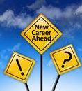 Start a new career concept
