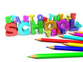 Start of the new school year Stock Photo