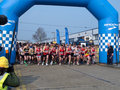 Start of Paddock Wood Half Marathon Stock Image