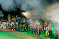 Start of Sixday nights Zurich Stock Images