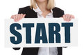 Start starting begin beginning business concept career goals mot