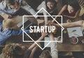 Start Up Aspiration Business Enterprise Launch Concept Royalty Free Stock Photo