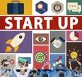 Start Up Business New Launch Technology Concept