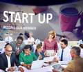 Start up Registration Member Joining Account Concept
