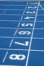Starting blocks Stock Photography