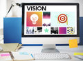 Startup Brand Marketing Vision Concept Royalty Free Stock Photo