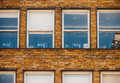 Startup empty office windows with places Royalty Free Stock Photography