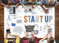 Startup New Business Launch Development Concept Royalty Free Stock Photo