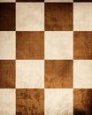 Stary chessboard Zdjęcia Stock