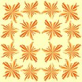 Stary tile orange Royalty Free Stock Images