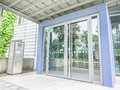 State building authority rosenheim entrance to the in with copy space Stock Images