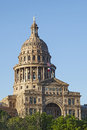 State capital of texas in austin at sunset the capitol building downtown Stock Photography