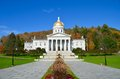 State Capitol Building in Montpelier Vermont Royalty Free Stock Photo