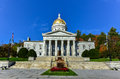 The State Capitol Building in Montpelier Vermont, USA Royalty Free Stock Photo