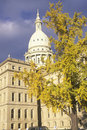 State Capitol of Michigan Royalty Free Stock Photo