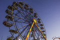 State Fair Ferris Wheel Royalty Free Stock Photo