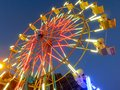 California State Fair towering Ferris wheel Royalty Free Stock Photo
