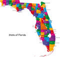 State of Florida Stock Photography