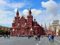 State Historical Museum on Red Square in Moscow Royalty Free Stock Photo