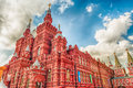 The State Historical Museum on Red Square, Moscow, Russia Royalty Free Stock Photo