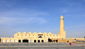 The state mosque in doha qatar a view of arabia Stock Photography