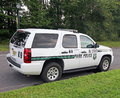 State park police vehicle nj respond to public safety and emergencies patrol and protect the state's parks Stock Image