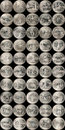 State Quarters Royalty Free Stock Photo