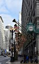State Street Dressed For The Holidays Royalty Free Stock Photo