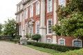 Stately Georgian mansion Royalty Free Stock Photo