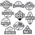 states and landmarks of usa