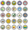 States of USA seals.