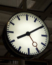 Station clock Stock Photography