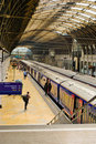 Station de train de Paddington Image stock