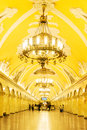 Station of Moscow metro Royalty Free Stock Photo
